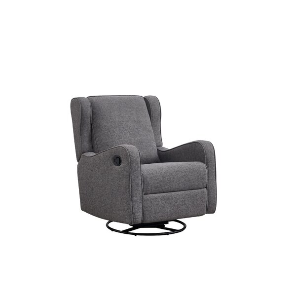 Bluff Trail Manual Reclining Glider By Ebern Designs