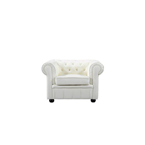 Gaskins Chesterfield Chair by Rosalind Wheeler