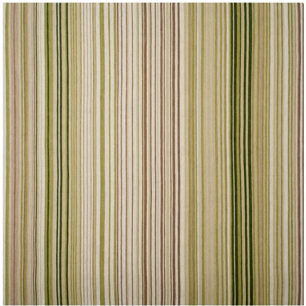 Barnesville Hand-Tufted Green/Beige Area Rug by Red Barrel Studio