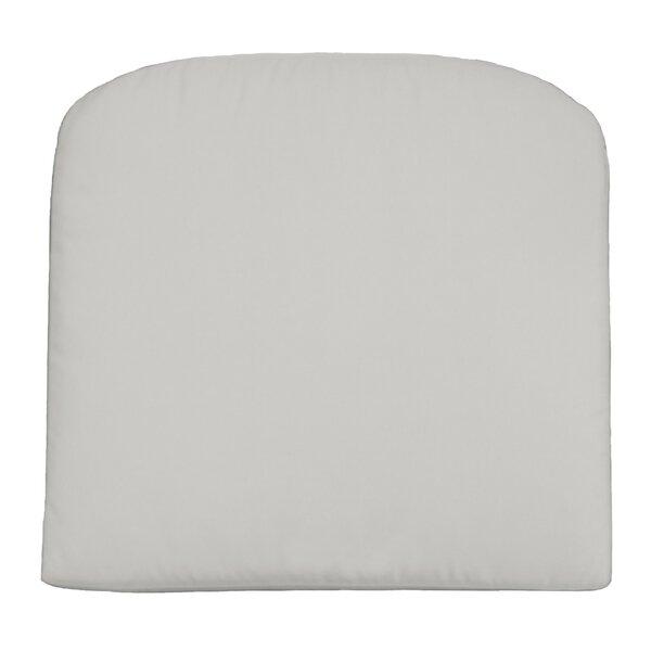 Knife Edge Indoor/Outdoor Contour Dining Chair Cushion by Wayfair Custom Outdoor Cushions
