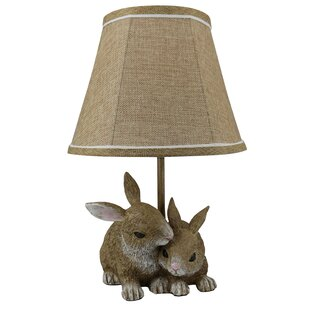 Bunny rabbit table lamps wayfair buchheit 16 table lamp aloadofball Image collections
