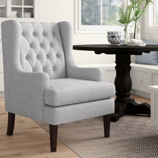 Keisha Wingback Chair by Three Posts Three Posts