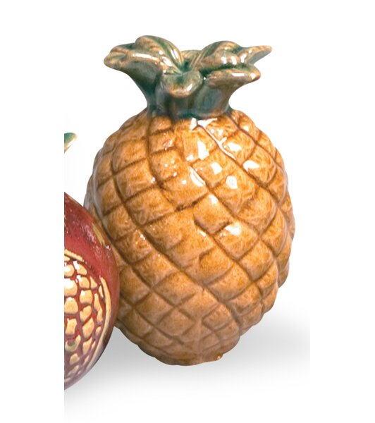 Decorative Pineapple (Set of 6) by Emissary Home and Garden