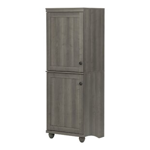 Hopedale 2-Door Narrow Storage Cabinet South Shore