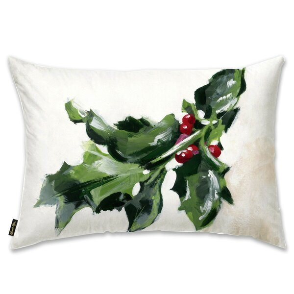 Mistletoe Lumbar Pillow by The Holiday Aisle