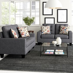 Amia 2 Piece Living Room Set