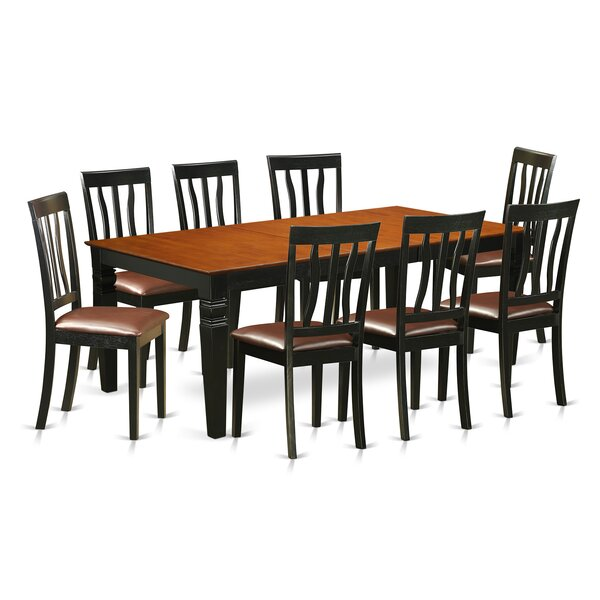 Beesley 9 Piece Extendable Solid Wood Dining Set by Darby Home Co