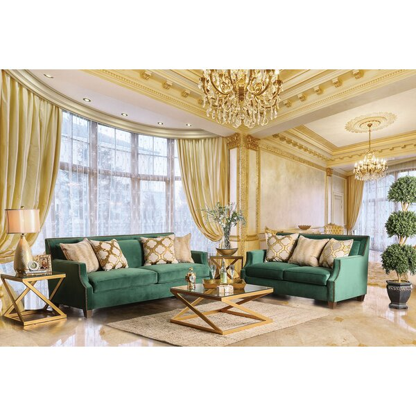 Leavell 2 Piece Living Room Set by Everly Quinn