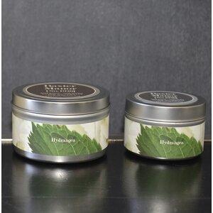Artisan Hydrangea Jar Candle