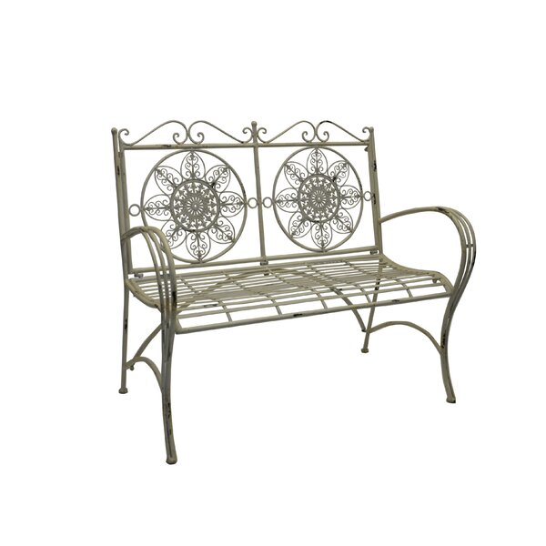 Roselee Iron Park Bench by Ophelia & Co.