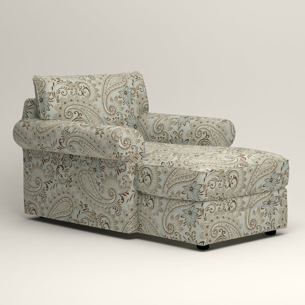Newton Chaise Lounge By Klaussner Furniture