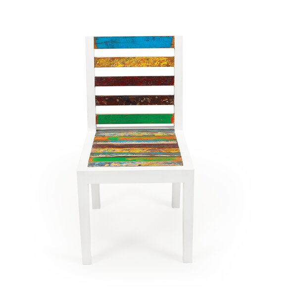 Even Keel Solid Wood Patio Dining Chair by EcoChic Lifestyles