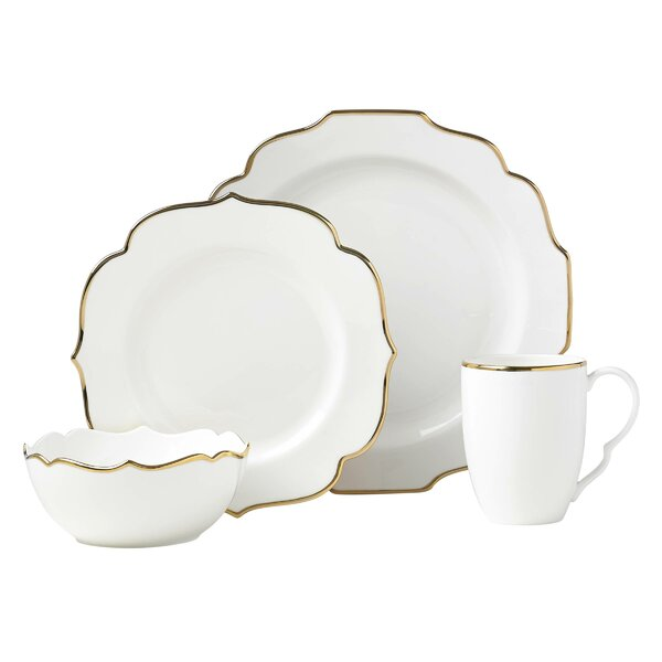 Contempo Luxe 4 Piece Place Setting, Service for 1 by Lenox
