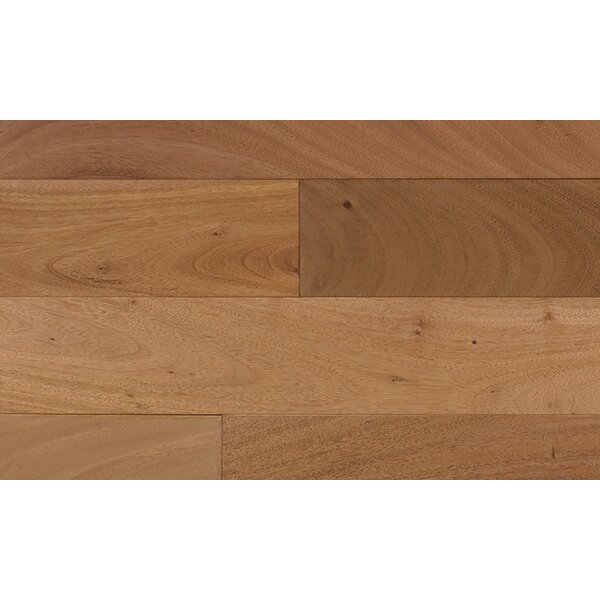 6-1/4 Engineered Oak Hardwood Flooring in Black by IndusParquet