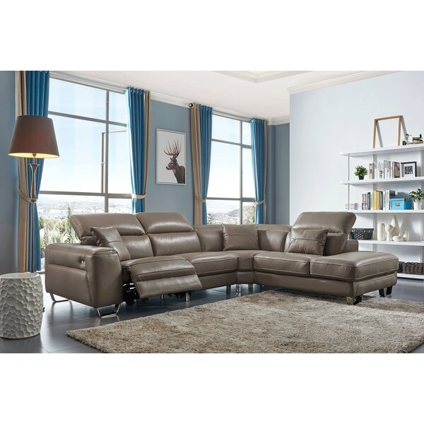 Mcelfresh Reclining Sectional by Orren Ellis Orren Ellis