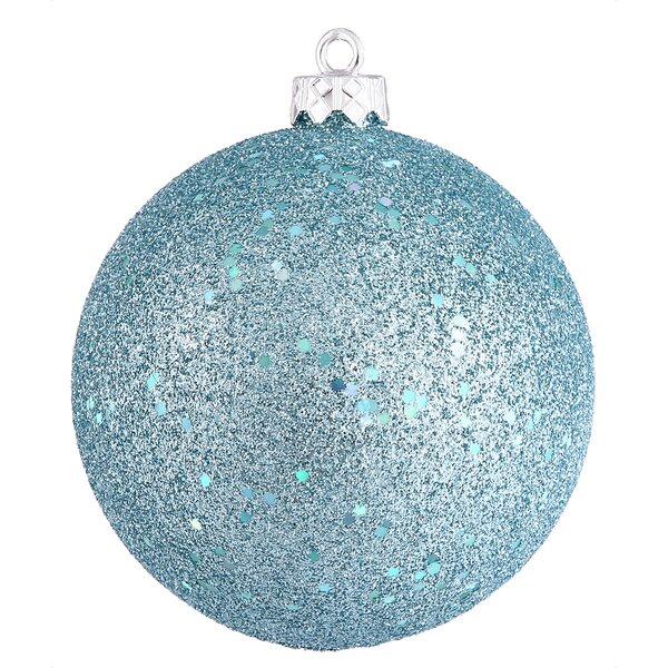 Assorted Ball Drilled Christmas Ornament (Set of 4