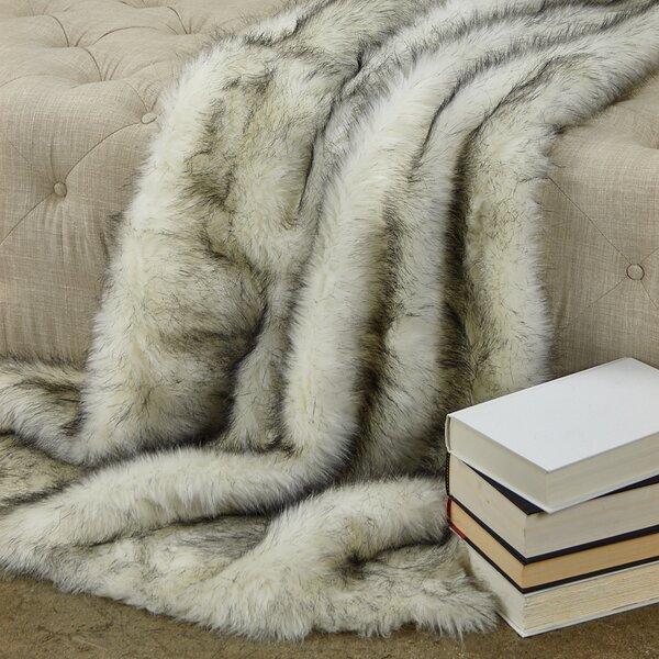 Polar Bear Luxury Throw by Plutus Brands