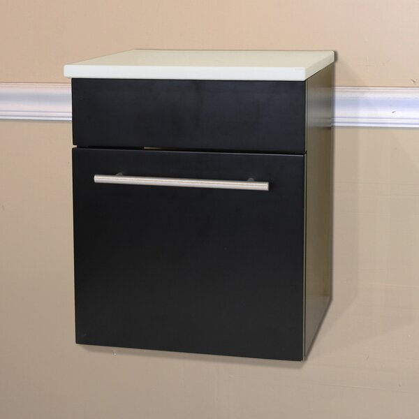 15 W x 16.25 H Wall Mounted Cabinet by Bellaterra Home