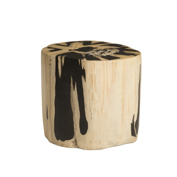 Cast Petrified Accent Stool