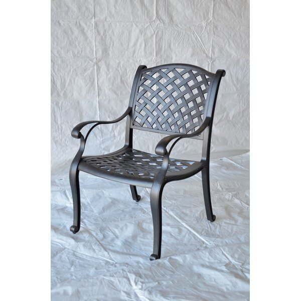 Nola Patio Dining Chair by Darby Home Co