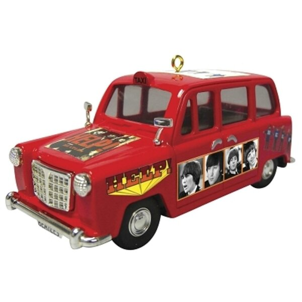 Carlton Cards Heirloom the Beatles Help Portrait Car Christmas Hanging Figurine by Northlight Seasonal
