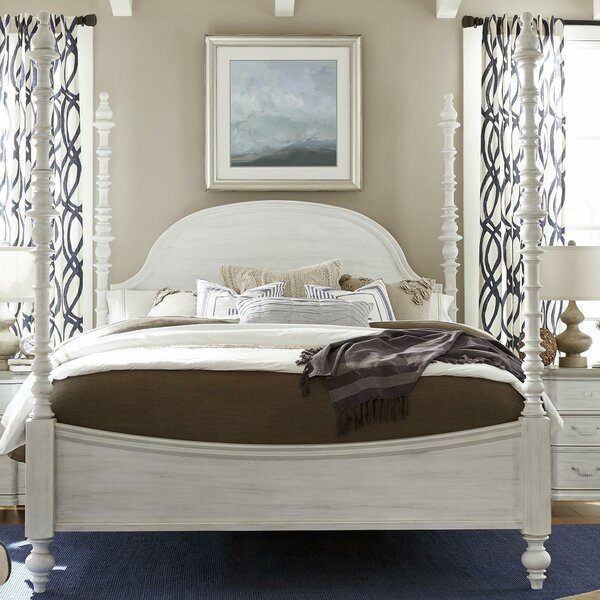 Bailes Four Poster Bed by Canora Grey