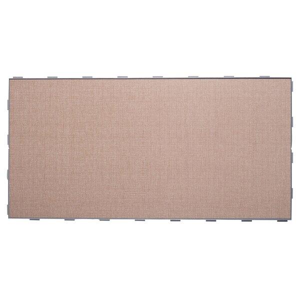 Luxury ThinLine 12 x 24 Porcelain Fabric Look/Field Tile in Beige by SnapStone