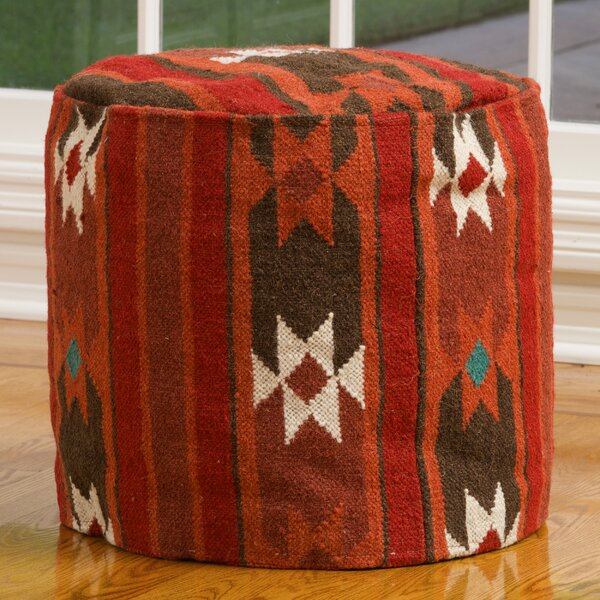 Cherokee Pouf by Home Loft Concepts
