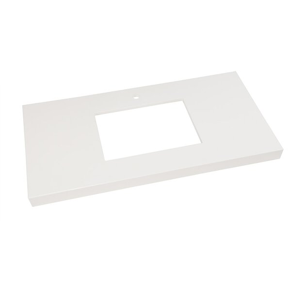 WideAppeal™ 37 Single Bathroom Vanity Top by Ronbow