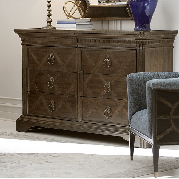 Fredric 8 Drawer Double Dresser by Canora Grey