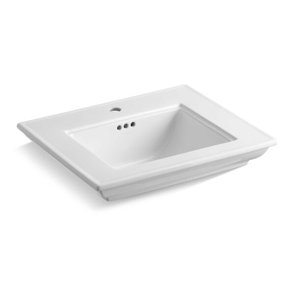 Memoirs® Stately 24 Pedestal/Console Bathroom Sink with  Overflow by Kohler