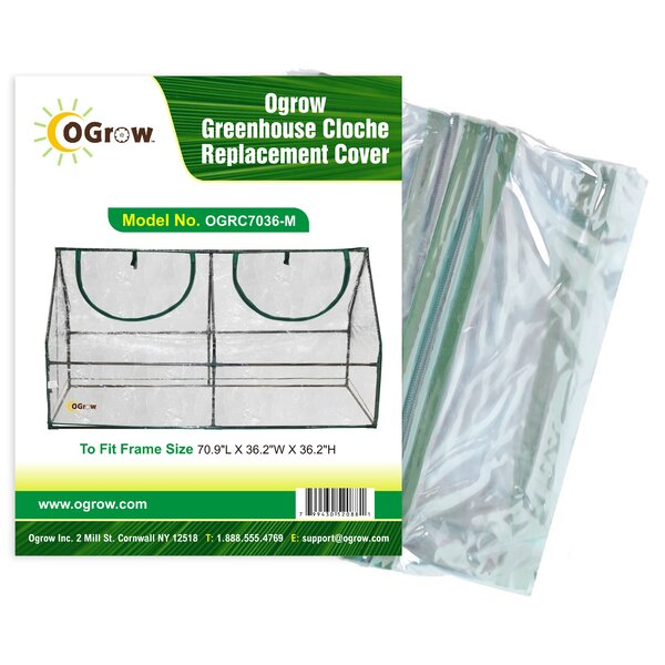 Greenhouse Cloche Replacement Cover by OGrow