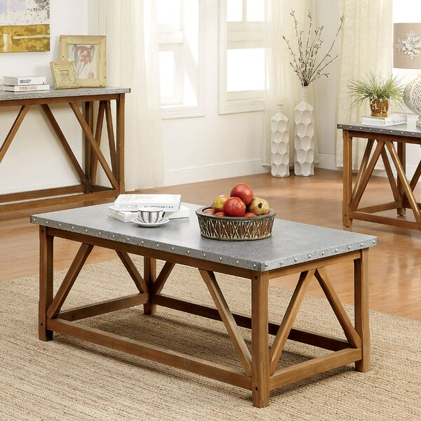 Aleah Coffee Table by Gracie Oaks