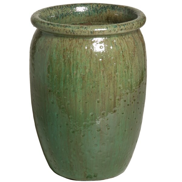 Texture Ceramic Pot Planter by Emissary Home and Garden