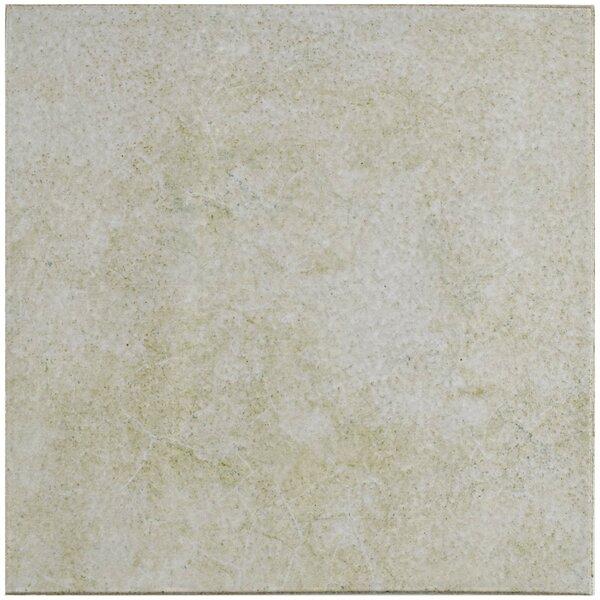 Shale Retro Quarry 12.75 x 12.75 Ceramic Field Tile in Blanco by EliteTile