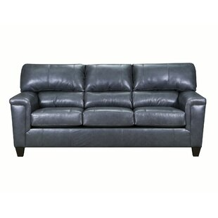 Coury Leather Sofa Bed
