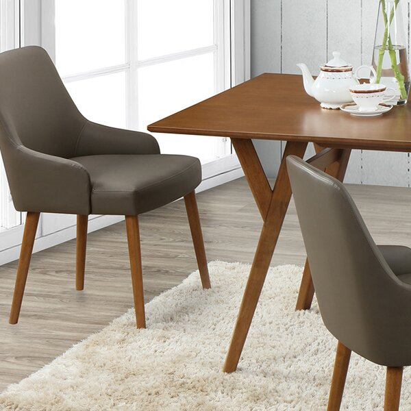 Buckleton Modern Upholstered Dining Chair (Set of 2) by George Oliver