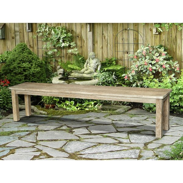 Perine Outdoor Teak Picnic Bench by Loon Peak