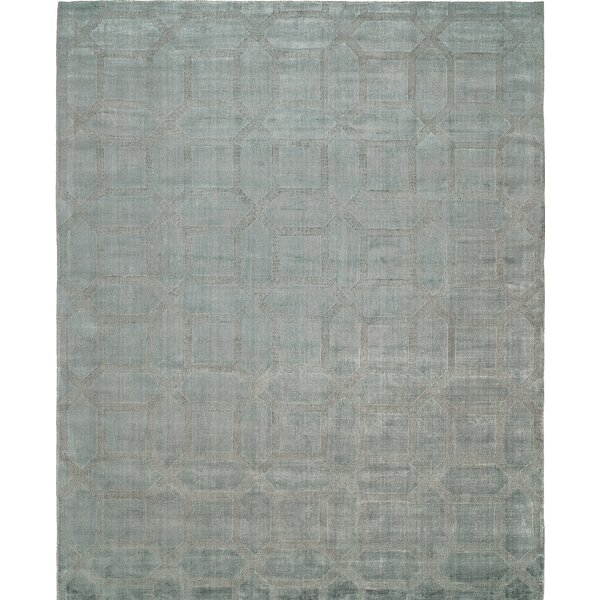 Handwoven Gray Area Rug by Wildon Home ®