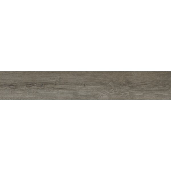 Palmetto Smoke 6 x 36 Porcelain Wood Look Tile in Gray by MSI