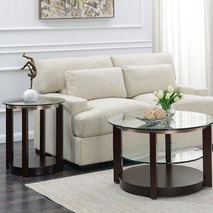 Charmant Roan 2 Piece Coffee Table Set ByAlcott Hill