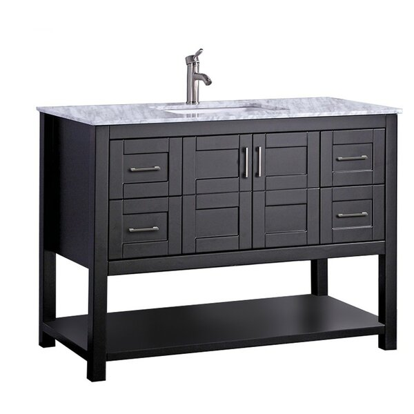 Mallouk Modern 48 Single Bathroom Vanity Set by Ivy Bronx