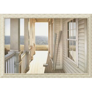 'Serenity' Framed Photographic Print by Beachcrest Home