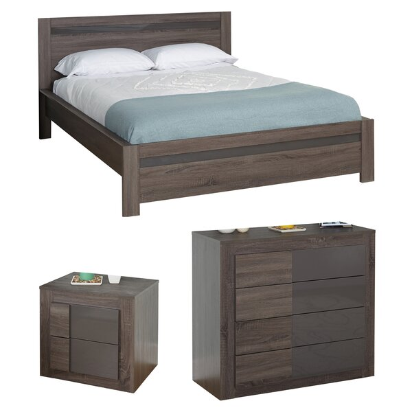 Joshua Queen Platform Configurable Bedroom Set by Zipcode Design