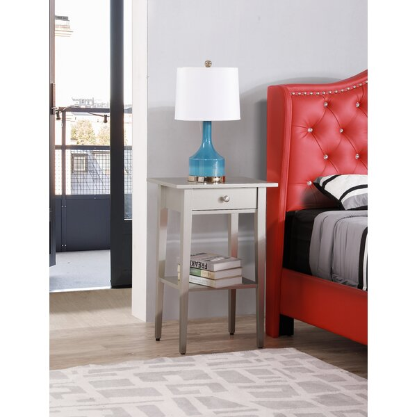 Blade 1 Drawer Nightstand By Andover Mills