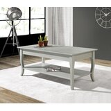 Binion Solid Wood Coffee Table with Storage by Red Barrel Studio®