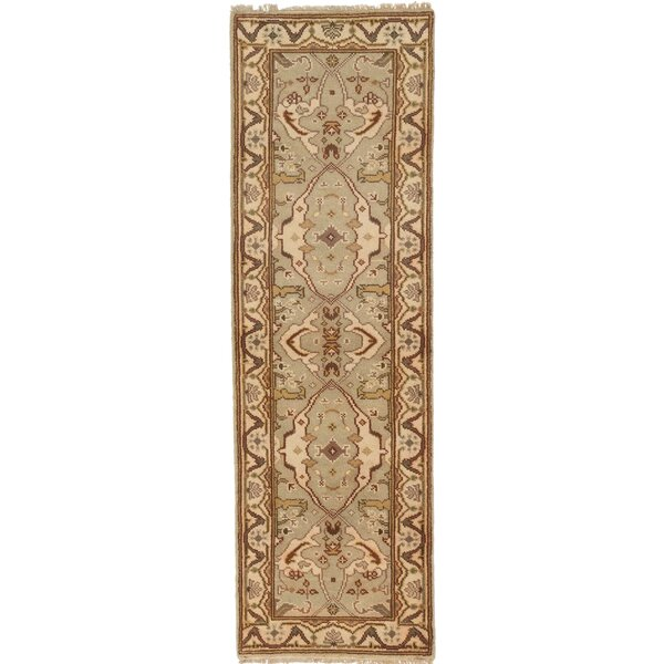 One-of-a-Kind Doggett Handmade Brown Area Rug by Isabelline