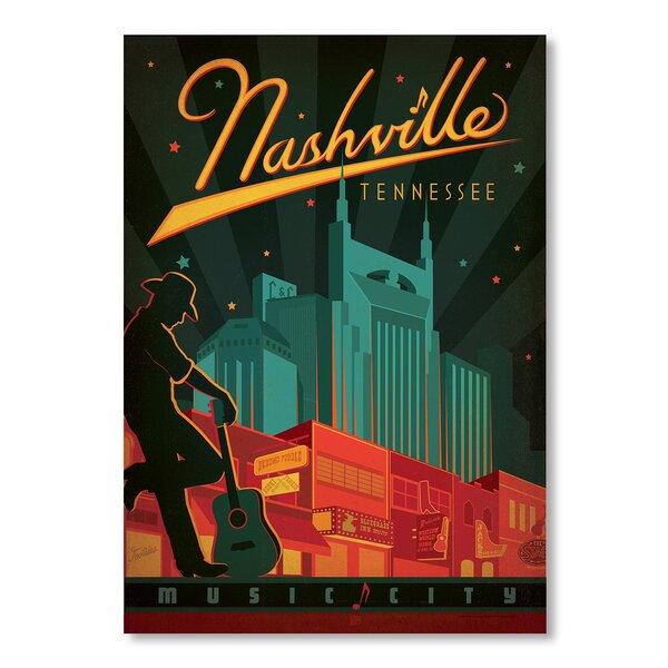 Son Nashville Broadway Vintage Advertisement by East Urban Home