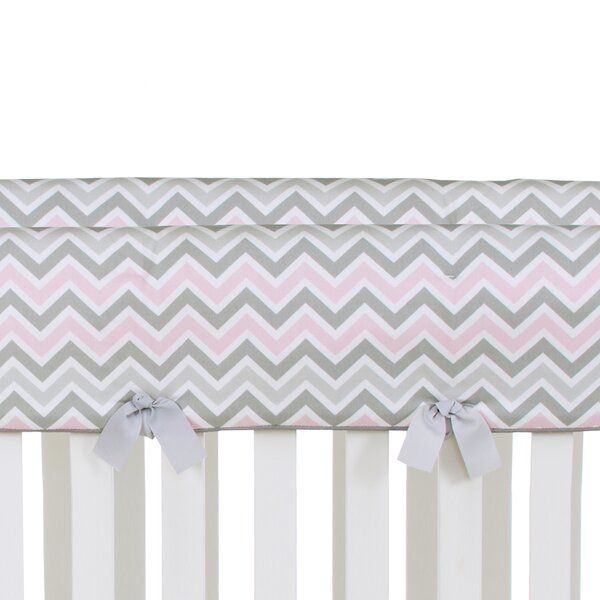 Kaitlyn Convertible Crib Rail Guard Cover by Glenna Jean