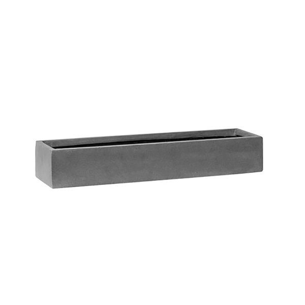Drumack Rectangular Garden Stone Planter Box by Williston Forge